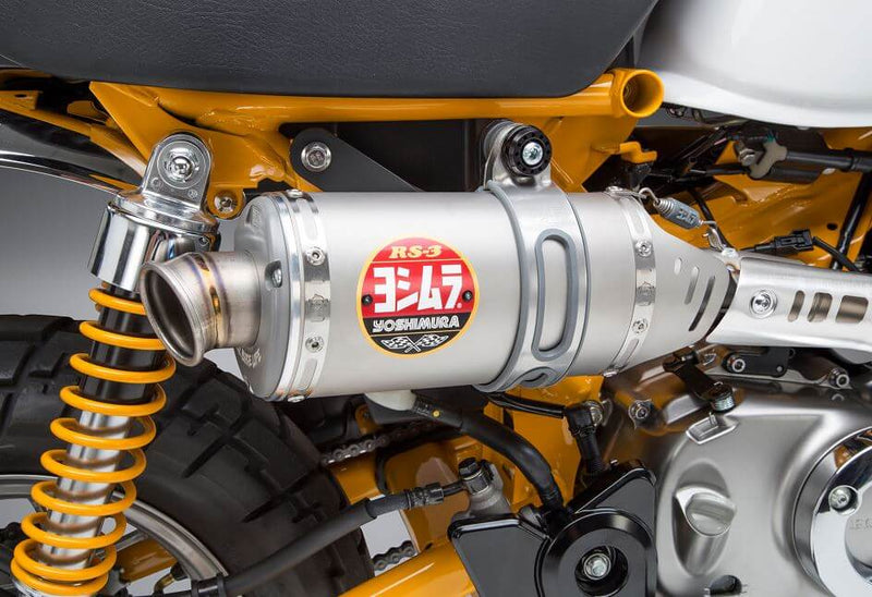 Yoshimura Street RS-3 SS-SS-TI Work Finish Slip-On Exhaust '19-'20 Honda Monkey