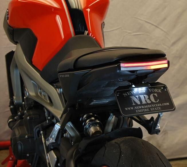 New Rage Cycles Fender Eliminator Kit 2014-2016 Yamaha FZ-09 / MT-09