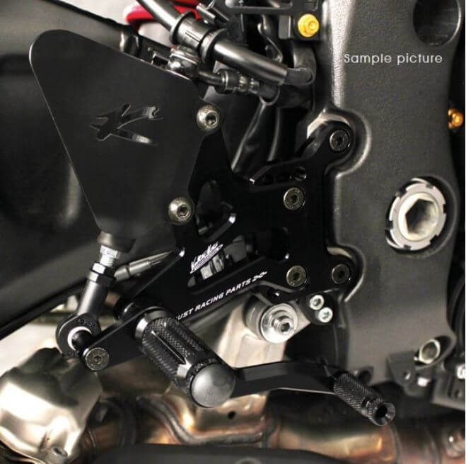 Valter Moto Type 1.5 Adjustable Rearsets 2007-2008 Yamaha R1
