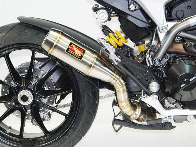 Competition Werkes GP Stainless Steel Slip-on Exhaust 2013-2017 Ducati Hyperstrada 821/939
