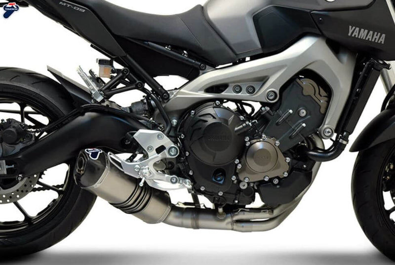 Termignoni Relevance Stainless/Titanium Full Exhaust System '14-'19 Yamaha MT-09/FZ-09/XSR900