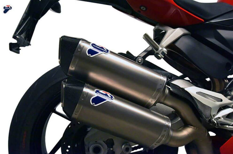 Termignoni Force Stainless/Titanium Slip-On Exhaust '16-'19 Ducati Panigale 959