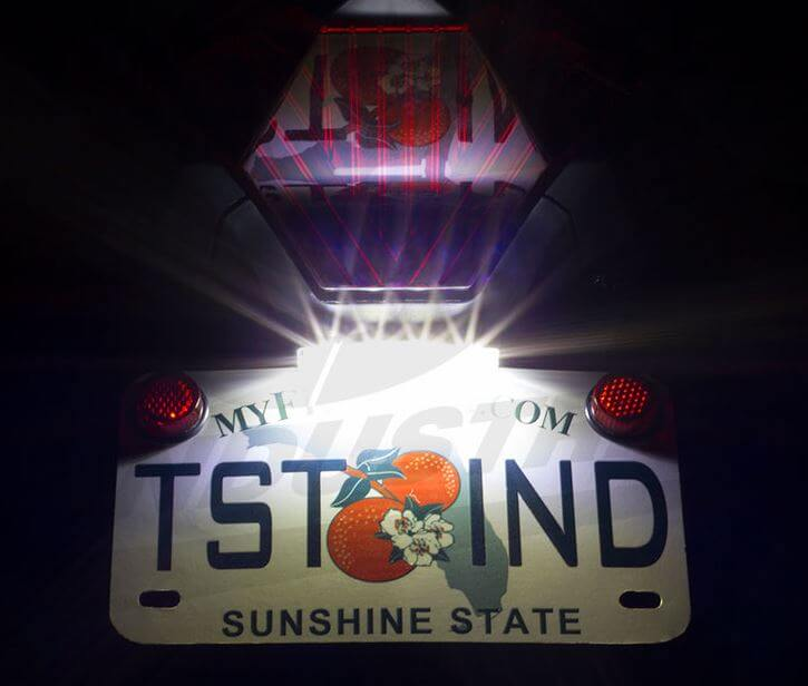 TST Industries LED Low-Profile Universal Fit License Plate Light