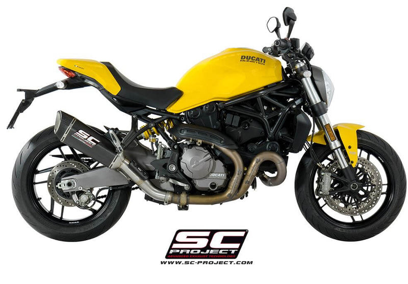 SC Project SC1-R Slip-on Exhaust 2018-2019 Ducati Monster 821