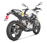 Akrapovic Racing Line (Carbon) Full Exhaust System '17-'19 BMW G310R/G310GS