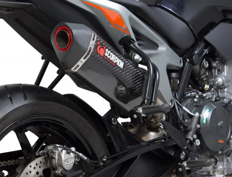 Scorpion Serket Parallel Slip-On Exhaust '18-'19 KTM 790 Duke