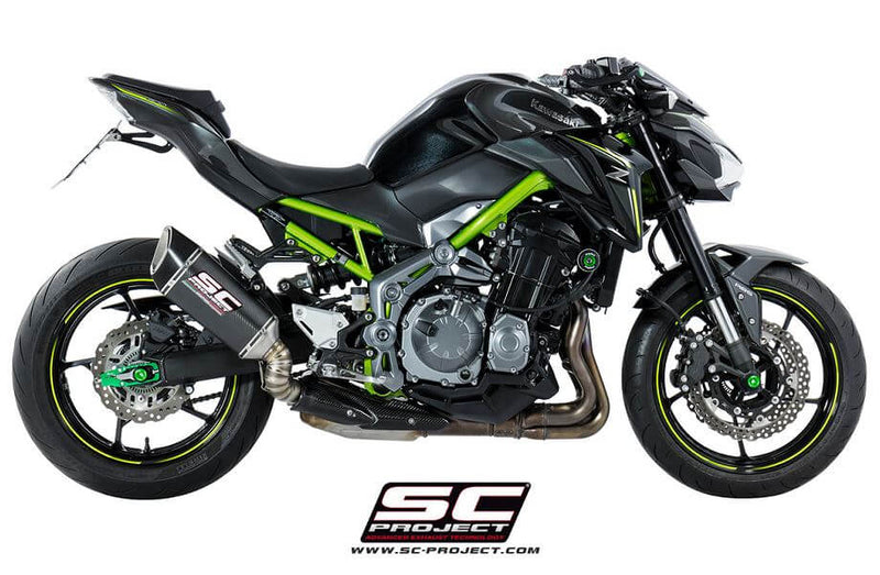SC Project SC1-R Slip-On Exhaust System '17-'20 Kawasaki Z900