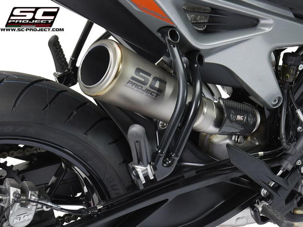 SC Project S1-GP Titanium Slip-on Exhaust 2018- KTM 790 Duke
