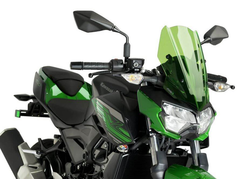 Puig Naked New Generation Sport Windscreen '19-'20 Kawasaki Z400