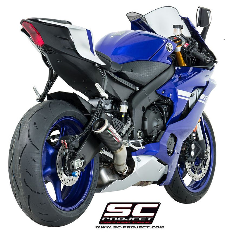 SC Project CR-T High Position Slip-On Exhaust 2017-2019 Yamaha YZF R6