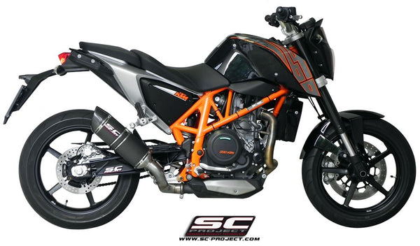 SC Project Oval Slip-on Exhaust for 2012-2016 KTM 690 Duke