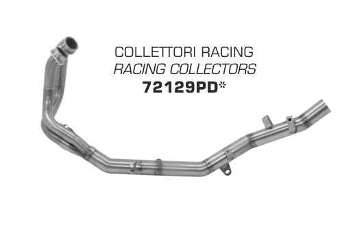 ARROW Stainless Steel Racing Headers / Collectors 2016-2017 Honda CRF1000L Africa Twin | 72129PD