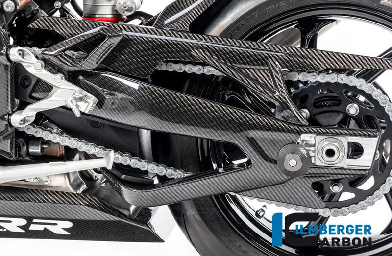 ILMBERGER Carbon Fiber Swing Arm Cover (Left) for Street/Racing '19-'20 BMW S1000RR