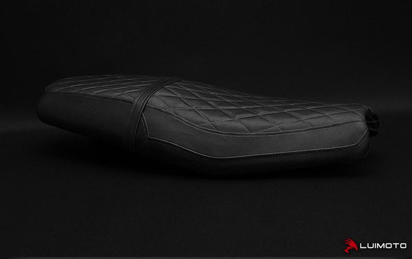 LuiMoto Vintage Diamond Seat Covers 2016-2017 Triumph Street Twin