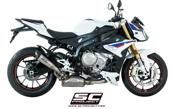 SC Project S1 Slip-On Exhaust 2017+ BMW S1000R