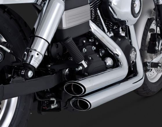 Vance & Hines Shortshots Staggered Full Exhaust System '06-'11 Harley-Davidson Dyna [17217 / 47217]