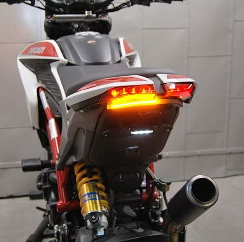 New Rage Cycles Tucked In Fender Eliminator Kit For Ducati