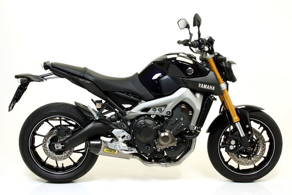 ARROW X-Kone Stainless Steel Full Exhaust System '13-'18 Yamaha MT-09 / FZ-09, '15-'18 FJ-09 / MT-09 Tracer