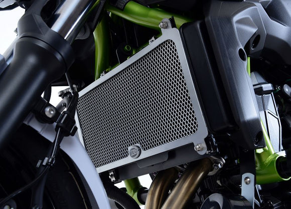 R&G Racing Radiator Guard for 2017+ Kawasaki Z650, Ninja 650