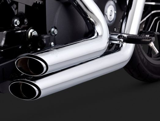 Vance & Hines Shortshots Staggered Full Exhaust System for 2004-2013 Harley-Davidson Sportster
