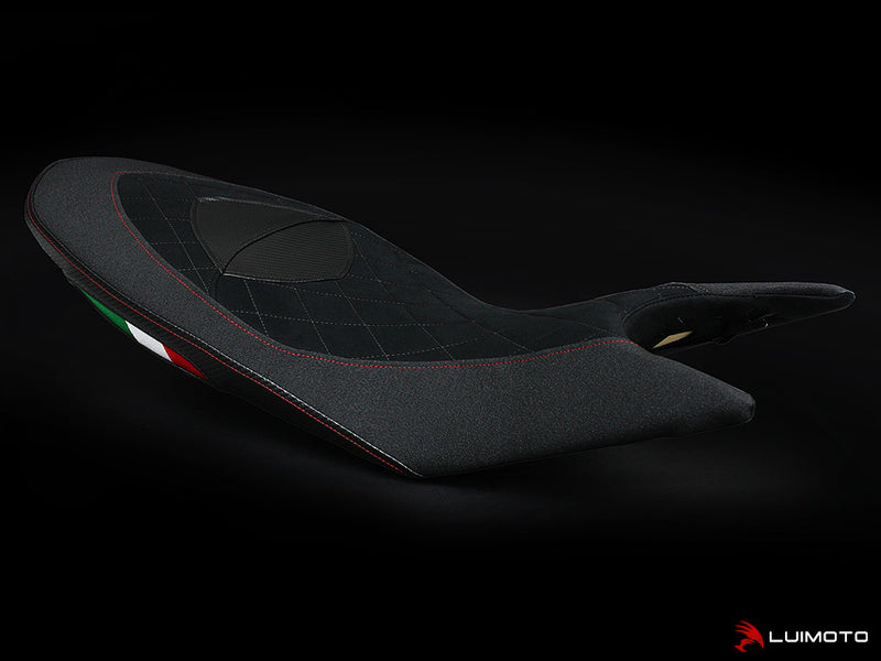 LuiMoto Diamond Edition Seat Covers '13-'18 Ducati Hypermotard