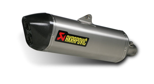 Akrapovic Titanium EC-Type Approval Slip-on Exhaust System for '06-'08 BMW K1200GT, '09-'11 K1300GT