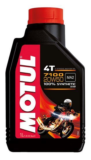 Motul 7100 4T 100% Synthetic Motor Oil | 1L
