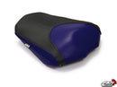 LuiMoto Raven Edition Seat Covers 2006-2013 Yamaha FZ1 - Cf Black/Deep Blue