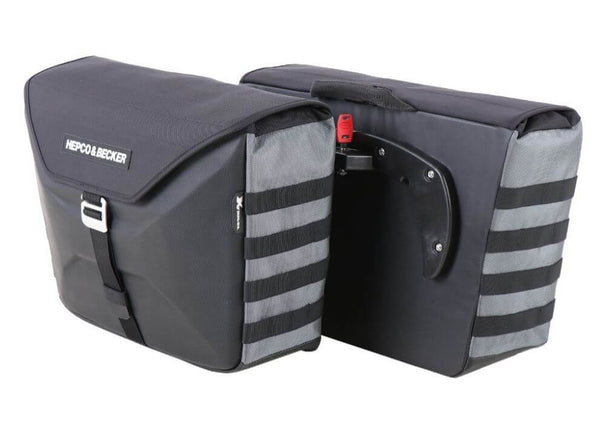 Hepco & Becker Xtravel C-Bow Side Bags (Pair)