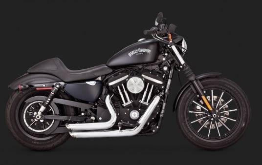 Vance & Hines Shortshots Staggered Full Exhaust System for 2014-2017 Harley-Davidson Sportster