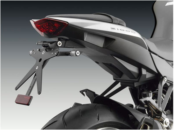"Rizoma ""FOX"" License Plate Support '10-'13 Kawasaki Z1000, '10-'16 Z1000SX (Ninja 1000)"