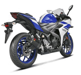 Akrapovic Slip-On Line (Carbon) Exhaust System for 2015-2018 Yamaha YZF R3 | S-Y2SO12-HAPC