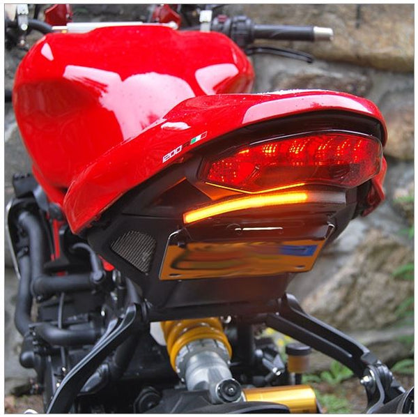 New Rage Cycles Tucked In Fender Eliminator Kit for 2016+ Ducati Monster 1200 R