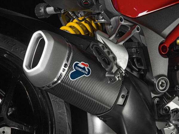 Termignoni Carbon Slip-On Exhaust 2015 Ducati Multistrada 1200/S | 96480711A