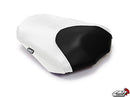 LuiMoto Raven Edition Seat Covers 2006-2013 Yamaha FZ1 - Cf Black/Cf Red/Cf White