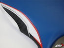 LuiMoto Team Suzuki TYPE II Seat Covers for 2009-2014 Suzuki GSXR 1000 - Blue/Red/CF Blk/CF Pearl