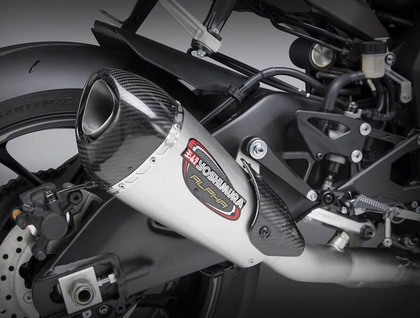 Yoshimura Race ALPHA T Stainless 3/4 Exhaust '15-'20 Yamaha R1/R1M/R1S