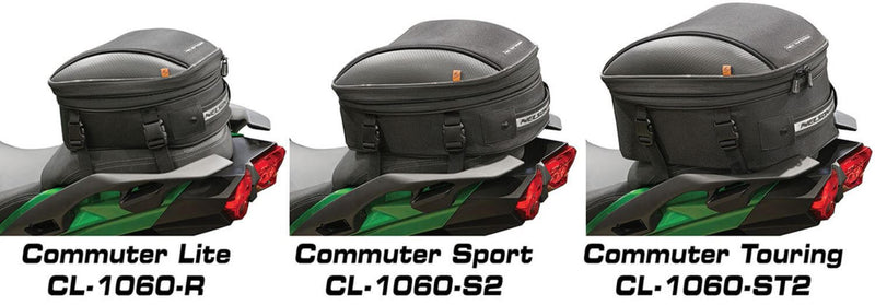 Nelson-Rigg CL-1060-S2 Sport Motorcycle Tail/Seat Bag