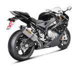 Akrapovic Hexagonal Slip-On Exhaust System 2015-2016 BMW S1000RR [S-B10SO2-HRC / S-B10SO2-HRT]