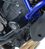 R&G Racing Aero Frame Sliders / Crash Protectors '14-'18 Yamaha MT-07 / FZ-07, '16-'18 XSR700 | CP0365BL