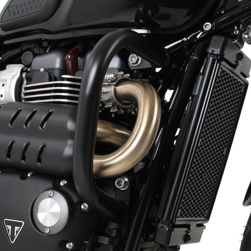 Hepco & Becker Black Engine Guard for 2019- Triumph Scrambler 1200 2017-Street Scrambler