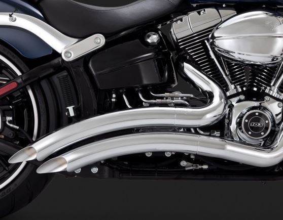 Vance & Hines Big Radius Full Exhaust System 2013-2015 Harley-Davidson Softail FXSB Breakout / FXSBSE CVO Breakout [26065 / 46065]