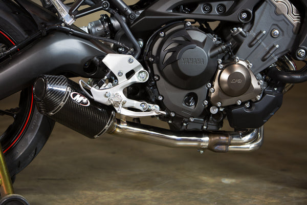 M4 Carbon Fiber Slip-On Exhaust System '14-'20 Yamaha FZ-09 / MT-09