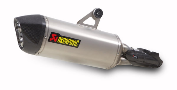 Akrapovic Slip-On Line (Titanium) Exhaust System for 2013-2015 BMW R1200GS [S-B12SO10-HAAT]