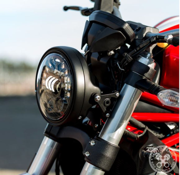 MOTODEMIC Headlight Conversion Kit for Ducati Monster 821/1200