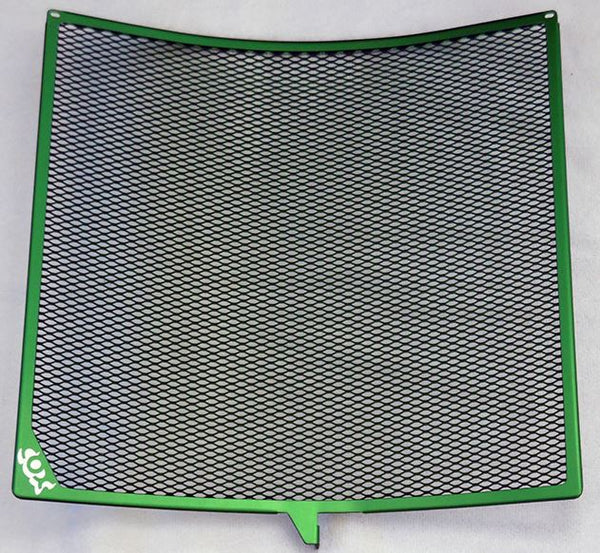 Cox Racing Radiator Guard for 2015-2016 Kawasaki Ninja H2 - Green