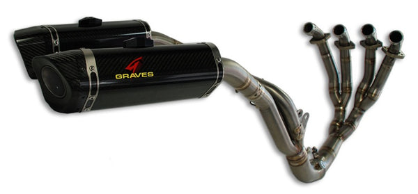 Graves Motorsports LINK Titanium Full Exhaust Systems for 2009-2014 Yamaha YZF R1