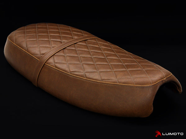 LuiMoto Vintage Seat Covers for Triumph Bonneville - Brown
