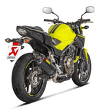 Akrapovic Slip-On Line (Carbon) EC Type Approval Exhaust  2016-2018 Honda CB500F/CBR500R/CBR400R