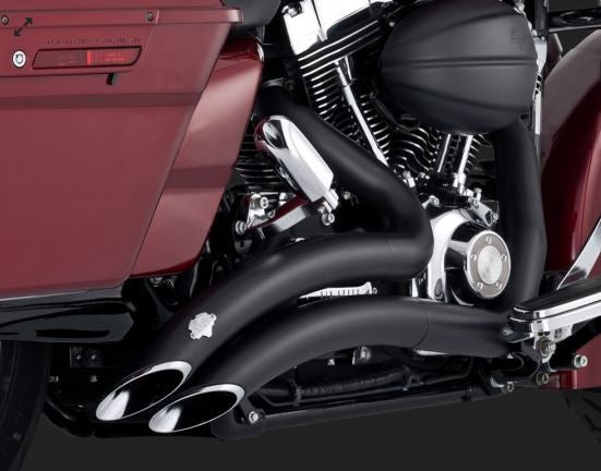 Vance & Hines Big Radius 2-Into-2 Full Exhaust System for 2009 Harley-Davidson Touring
